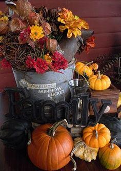 Love this fall display
