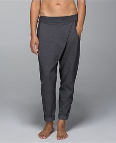 Lululemon Yogini Trouser Pant: Get the right fit with the Lululemon Yogini Trouser Pant ($128), which is designed not to shrink and features a drawstring waist for perfect low-waist placement.