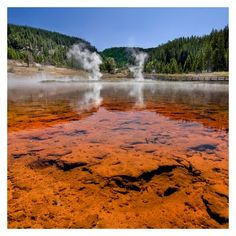 Fire Hole Lake, yellowstone national park. can you tell I want to go here?