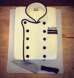 Chef cake - perfect for my boyfriend when he graduates!