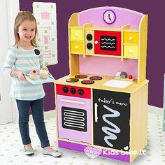Inspirasi Alat Permainan Edukatif Anak Paud Dan Tk Large Girls 101cm Purple Wooden Kids Kitchen Pretend