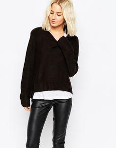 Cheap Monday Chunky Knit Sweatshirt