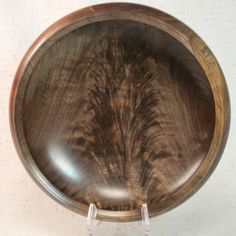 704 Walnut crotch wooden bowl wood bowl by EccentricOldGuy on Etsy, $312.00