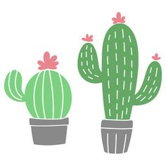 This design is intended to be cut with an electronic cutting machine. Design Projects, Craft Projects, Silhouette America, Silhouette Design, Cactus Plants, Free Design, Stencils, Cameo Project, Adventure Time