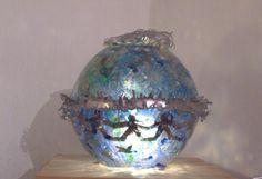 SCULPTURE RESIN EPOXI GLASS LED