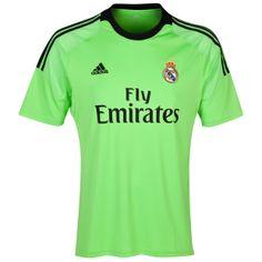 Tienda Futbolmania somos Camiseta 2ª Fútbol De Portero Real Madrid 2013 14  -Niños erm balones y mucho más.Equipaciones Fútbol Hombre Y Mujre. 01293082cc4