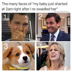 If you haven't been at least one of these are you even a parent? Pick which one is most accurate. Parent Humor, Many Faces, Corgi, At Least, Parenting, Funny, Baby, Animals, Instagram
