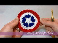 ▶ Motif of the Month June 2013: Patriotic Circle Motif - YouTube
