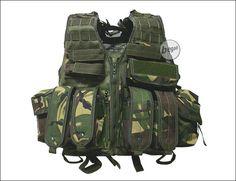 Woodland TDU assault vest