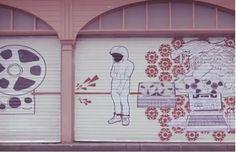 Spaceboy x Red Stripe's Animated Street Art Installation