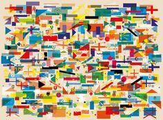 All Countries Art Print by Yoni Alter Easyart.com