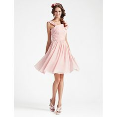 SOPHIA - Kleid für Brautjungfer aus Chiffon – USD $ 97.99