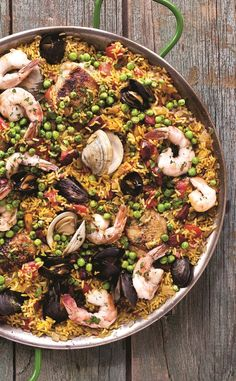 the chew | Recipe  | Michael Symon's Paella