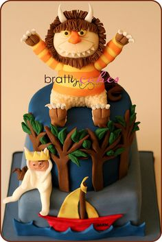 Where The Wild Things Are Cake by Natty-Cakes (Natalie), via Flickr