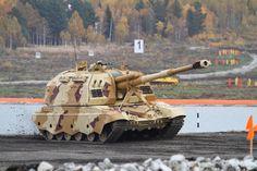 La punta de lanza del ejercito ruso en imágenes en alta resolución       T-72      2S19M1 Msta-S      BRM-3K      BTR-MDM Rakushka-M      ...