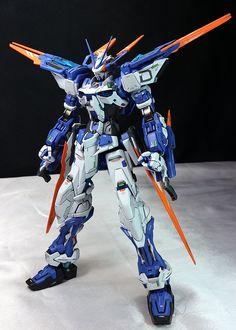 Custom Build: MG 1/100 Gundam Astray Blue Frame D - Gundam Kits Collection News and Reviews
