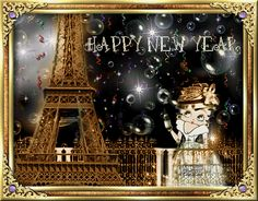 Happy New Year! May many blessings find you and yours all through the coming year!