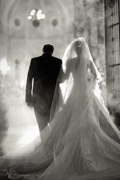 Wedding Photos | Bride  Father of the Bride