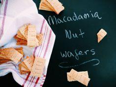 Macadamia Nut Wafers