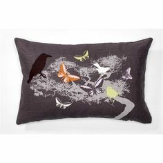 Sparrow cushion -- Design by Susanne Schjerning