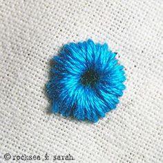 eyelet stitch: fig 3