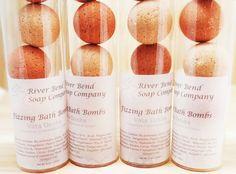 Ayurvedic - Vata Dosha Cinnamon, Ginger & Tangerine Bath Bombs