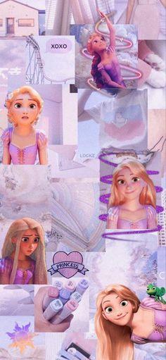 Rapunzel Tangled Movie, Rapunzel Disney, Punk Disney Princesses, Disney Princess Drawings, Disney Disney, Disney Drawings, Disney Wallpaper Tangled, Disney Phone Wallpaper, Cartoon Wallpaper Iphone