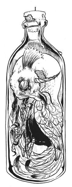 https://www.facebook.com/pages/Alison-Woodward-Eats-Ink/200842665680  #art #illustration #ink