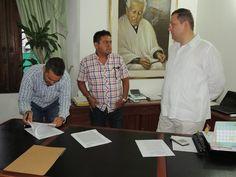 Noticias de Cúcuta: Se firmó contrato para la pavimentación de la entr...