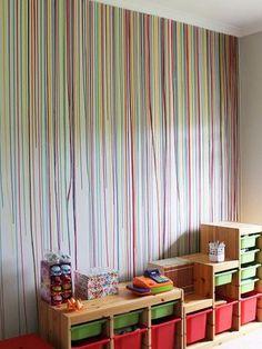 20 formas poco convencionales de pintar una habitación