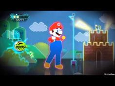 Super Mario dance for brain break, indoor recess.
