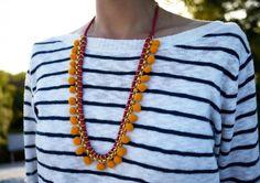 40 Gorgeous DIY Necklaces via Brit + Co.