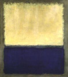 Mark Rothko, Light, Earth and Blue on ArtStack #mark-rothko #art