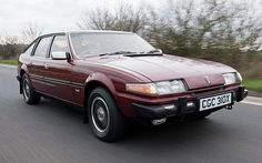 Rover SD1 driving