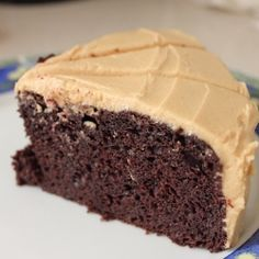 Chocolate Cake Peanut Butter Icing
