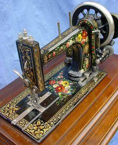 Bradbury's High Arm Family Sewing Machine - Quilting Digest