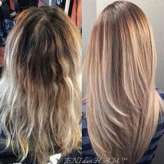 Stunning blonde by Jeni_does_ham! She touched up her roots with #KenraColor 6AA + 10 vol/20vol. and refreshed her blonde at the bowl with Rapid Toners SV+VP.