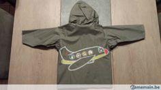 K-way gris avec capuche - A vendre