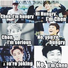 kekeke Chen youre such a troll~ keke aigo~