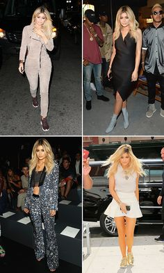 Kylie Jenner rocked 4 sexy looks in 1 day for NYFW. We love every single one of her outfits and we can't decide which one was our fave. You decide & VOTE.