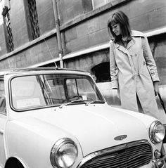 Now You Know: Françoise Hardy Was the Original Street Style Star - 1960: A Classic Trench - from InStyle.com