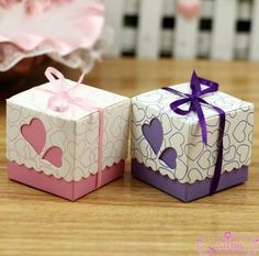 Paper Wedding Candy Bift Box gift paper box