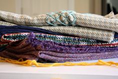 wintry wool throws