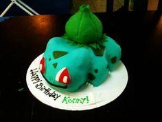 Bulbasaur Birthday cake Ideas