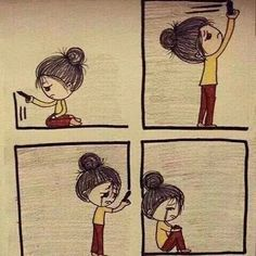 Image shared by Nigar Mamedova. Find images and videos about sad, alone and cry on We Heart It - the app to get lost in what you love. Sad Drawings, Pencil Art Drawings, Sad Pictures, Sad Art, Belle Photo, Anime Art, Sketches, Cartoon, Feelings