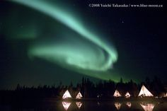 Yellowknife, Northern Territories | Northern Lights - Aurora Village, Yellowknife, ... | Northern & South ...