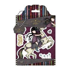 """SET TIMBRI - GORJUSS """"THE RUNAWAY"""" Set di timbri coordinati con la collezione Gorjuss di Santoro. Facilissimi da usare, basta inchiostrarli, posizionare il timbro sulla superficie e premere."""