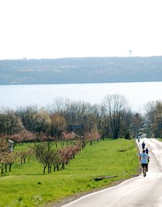 On the docket this year: The Seneca7 relay race around Seneca Lake; 77.7 miles; each April.
