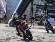 AutoSaloon 2014 stunt show with a teammate Nico Leinonen!