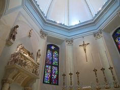 Milan (Italy): Detail of the aps of the Church of San Gottardo at the Court